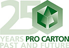 Logo 25 years of Pro Carton