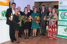 Peter und Gun Carell, Mike und Bernadette Clark, Franz und Renate Rappold, Stéphane Thiollier, Richard und Pauline Dalgleish