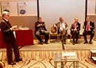 Discussion with Franz Rappold, Willy Zwerger, Dr. Andreas Blaschke, Roland Rex, Mag. Georg Wiedenhofer