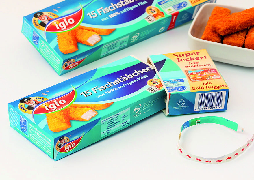 Packaging Solution for 15 Fish Fingers