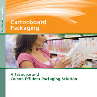 """Cartonboard Packaging : A Resource and Carbon Efficient Packaging Solution"". New brochure from Pro Carton now available"