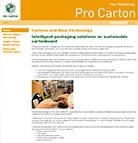 Nuova tecnologia: il nuovo sito web di Pro Carton