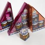 Food: Display case of La Fageda jams