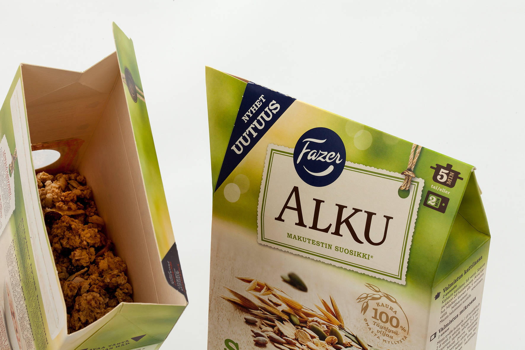 Fazer Alku new mill products