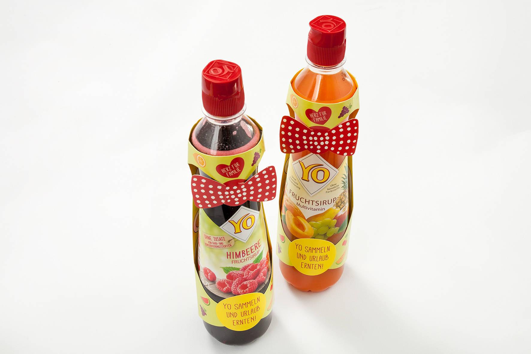 YO Syrup Carton Sleeve
