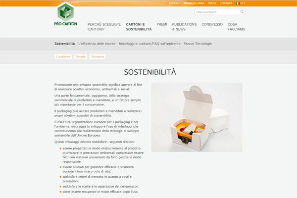 Sostenibilità in cinque lingue
