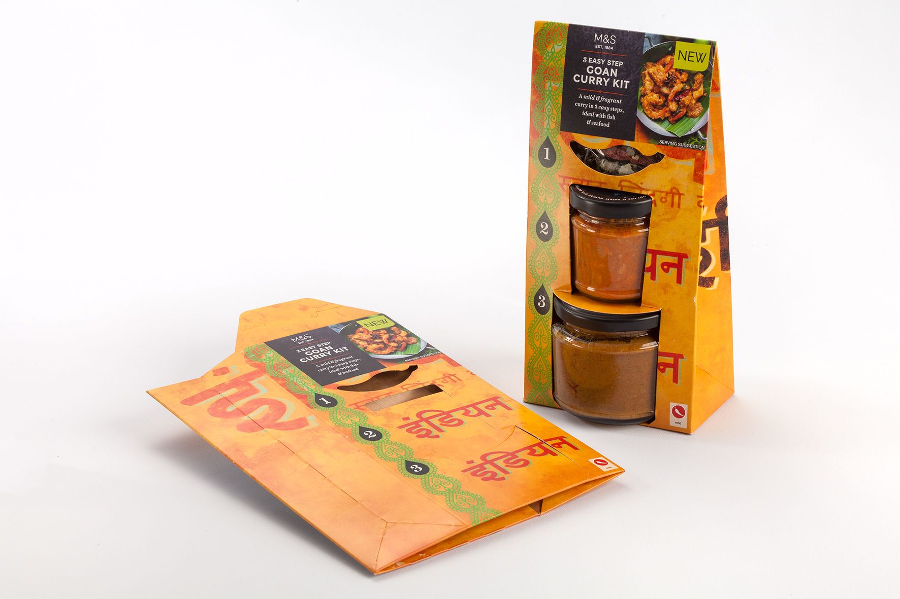 M&S Curry Kit