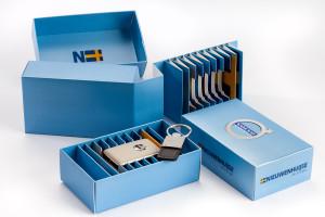 Volvo Luxury Spare Key Storage Box