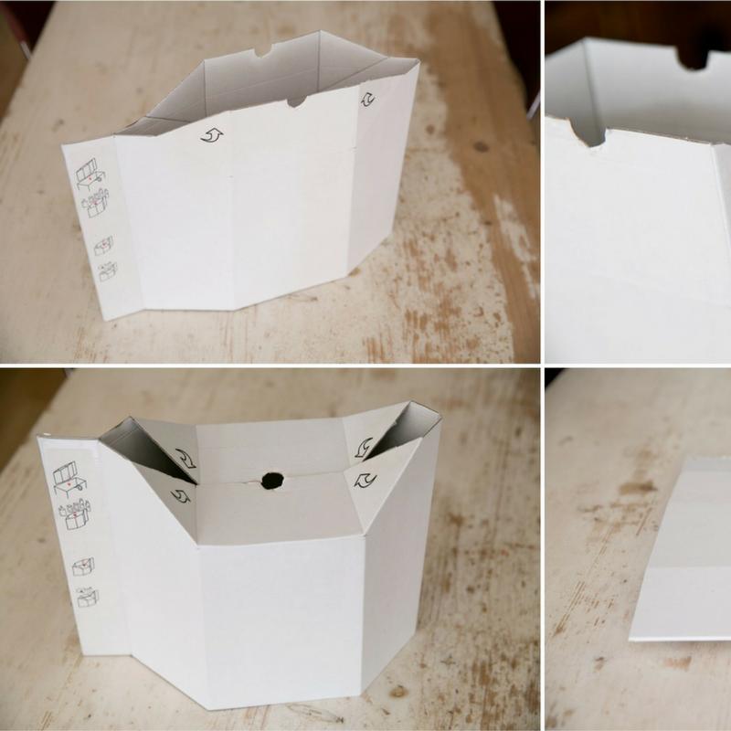 Bulky, the carton shopper