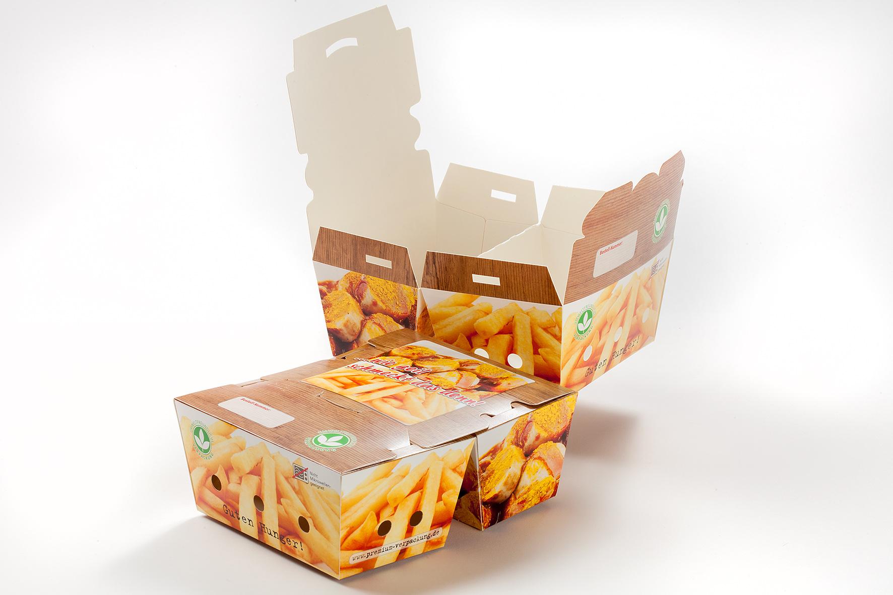Schnitzel Joker Curry Wurst Pommes Kombibox