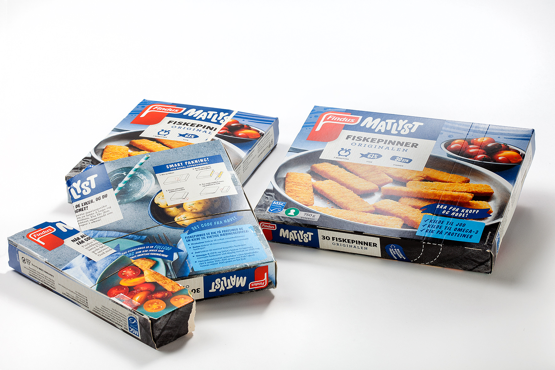 Findus 30 Fish Fingers Twinpack