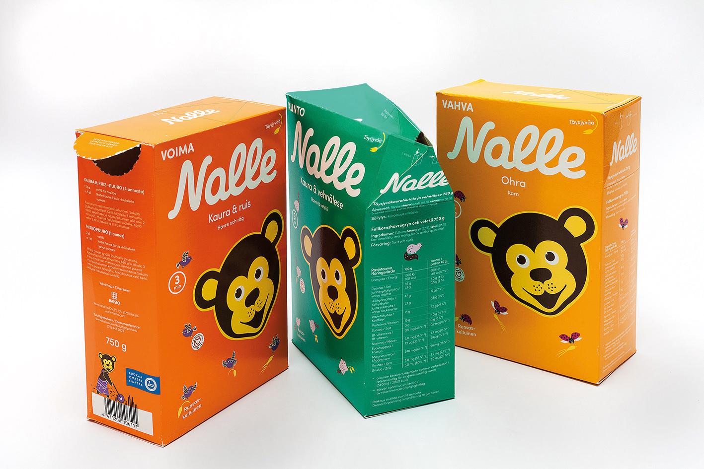 Nalle Oat Flakes