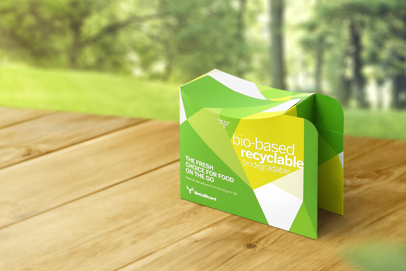 Metsä Board launches an innovative eco-barrier paperboard