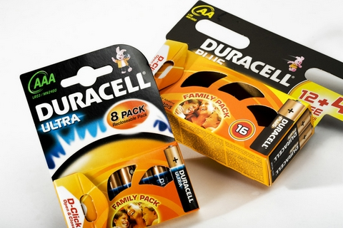 Duracell Obelix Packaging