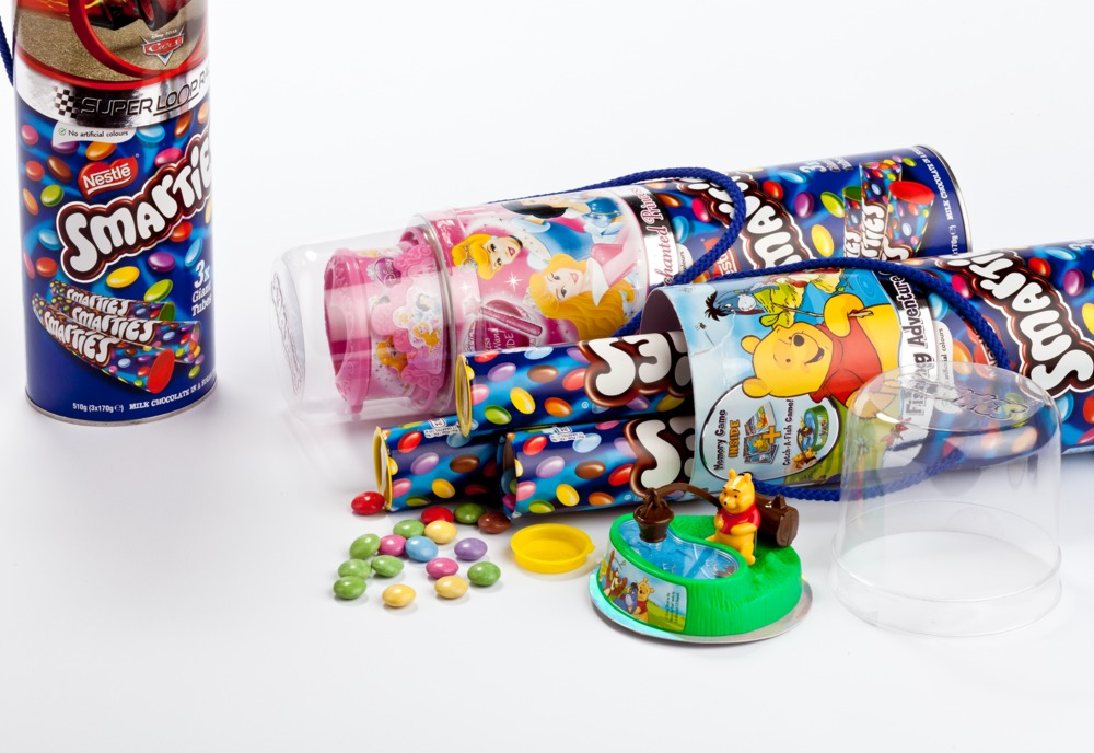 Smarties Disney 3x Giant Tubes