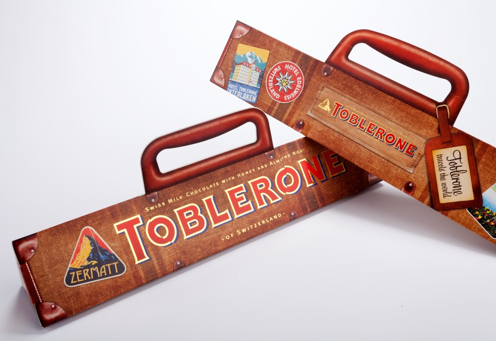 Suitcase Sleeve, Toblerone 750g