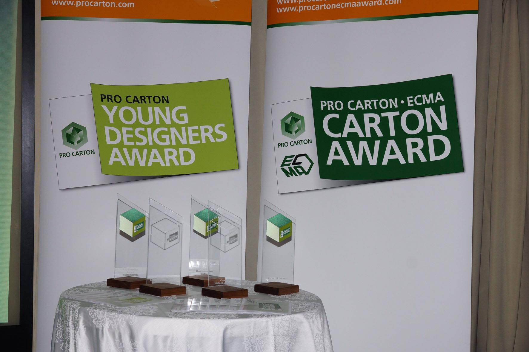 Pro Carton ECMA Award Presentation