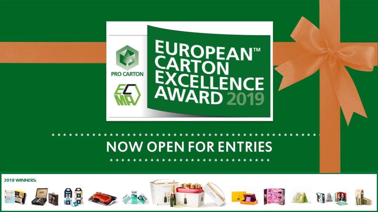EUROPEAN CARTON EXCELLENCE AWARD : EVEN MORE CHANCE TO WIN