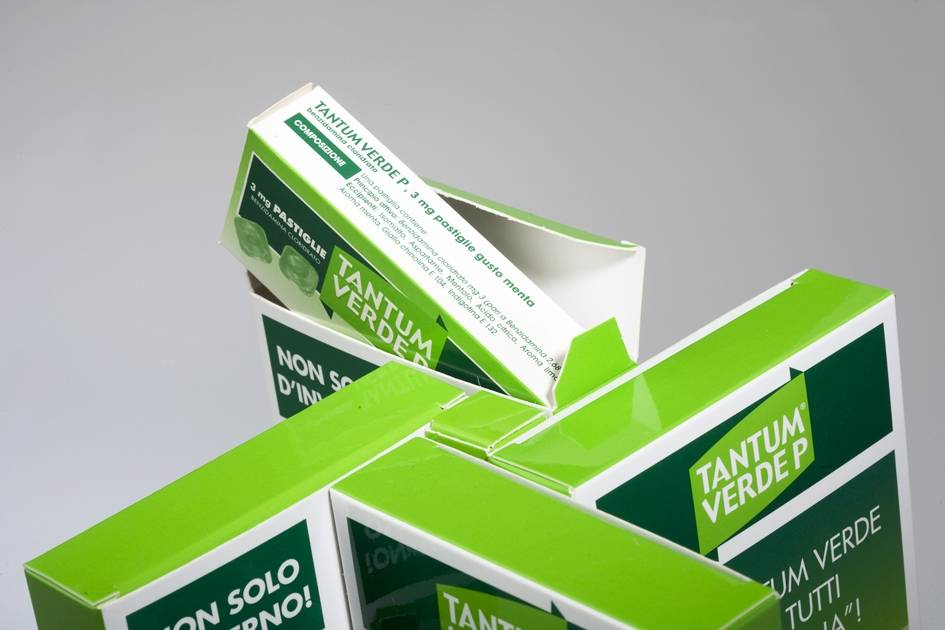 Espositore da banco girevole Tantum Verde per pastiglie 2