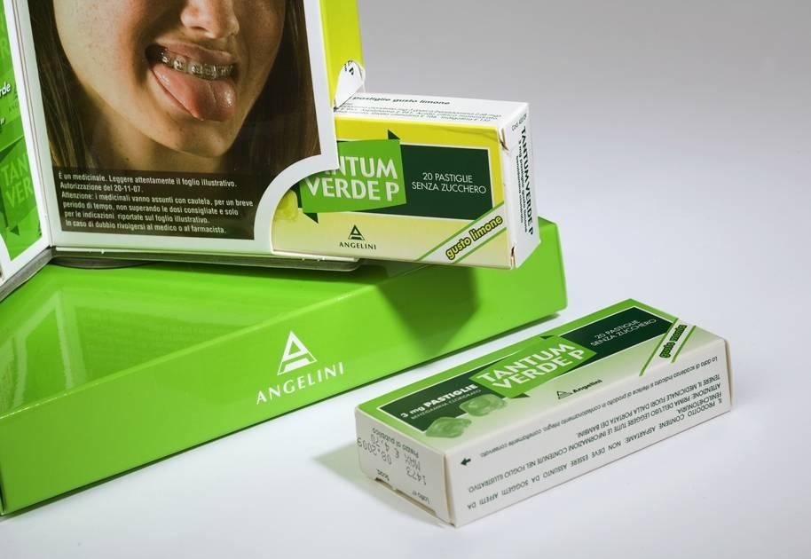 Espositore da banco girevole Tantum Verde per pastiglie 3