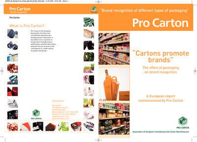 Cartons promote brands