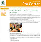 Neue Technologie – neue Pro Carton-Website