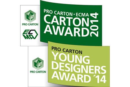 Pro Carton ECMA Award 2014 und der Pro Carton Young Designers Award 2014 – die Finalisten!
