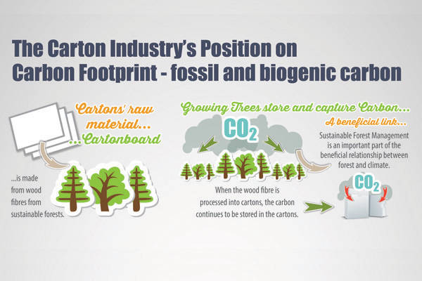 Infographics 3: Pro Carton's carbon footprint