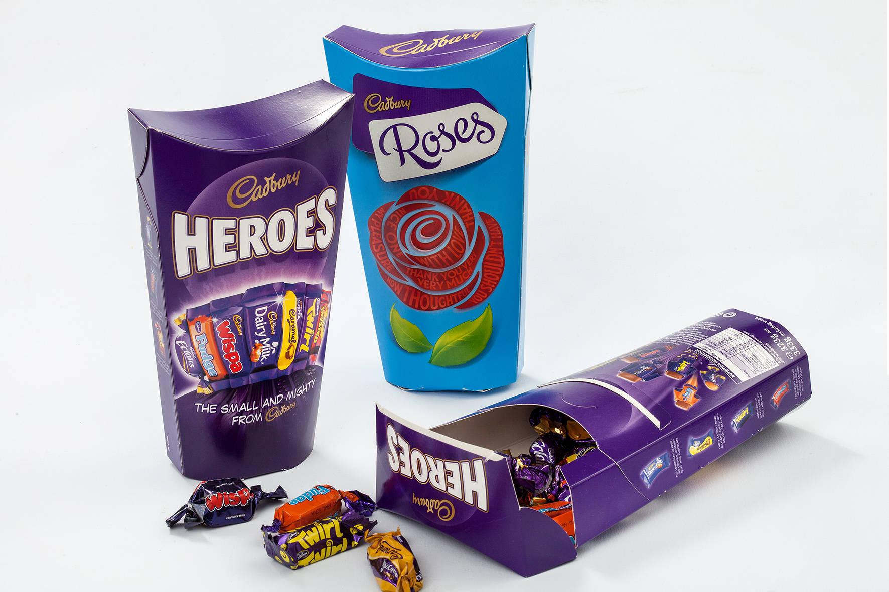 Cadbury Heroes & Roses