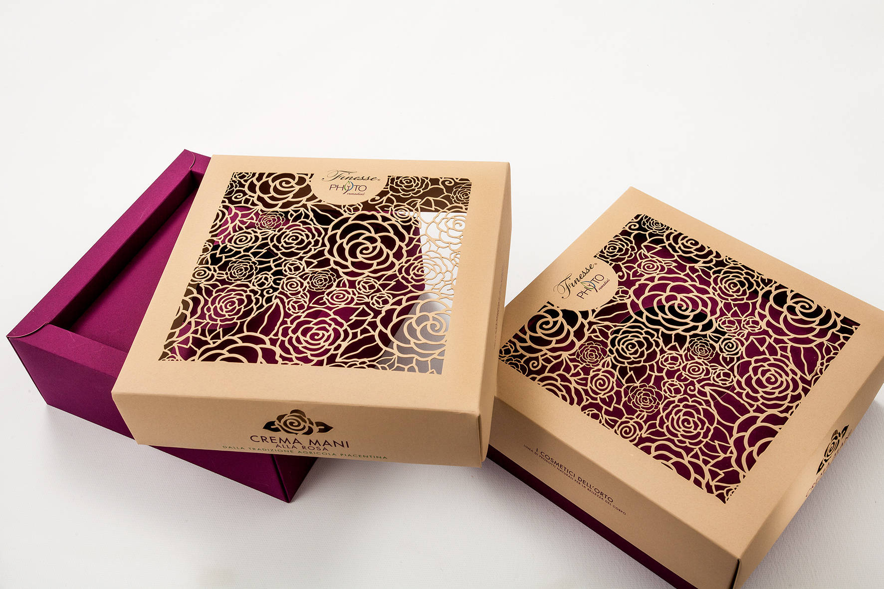 Lace Rose Box