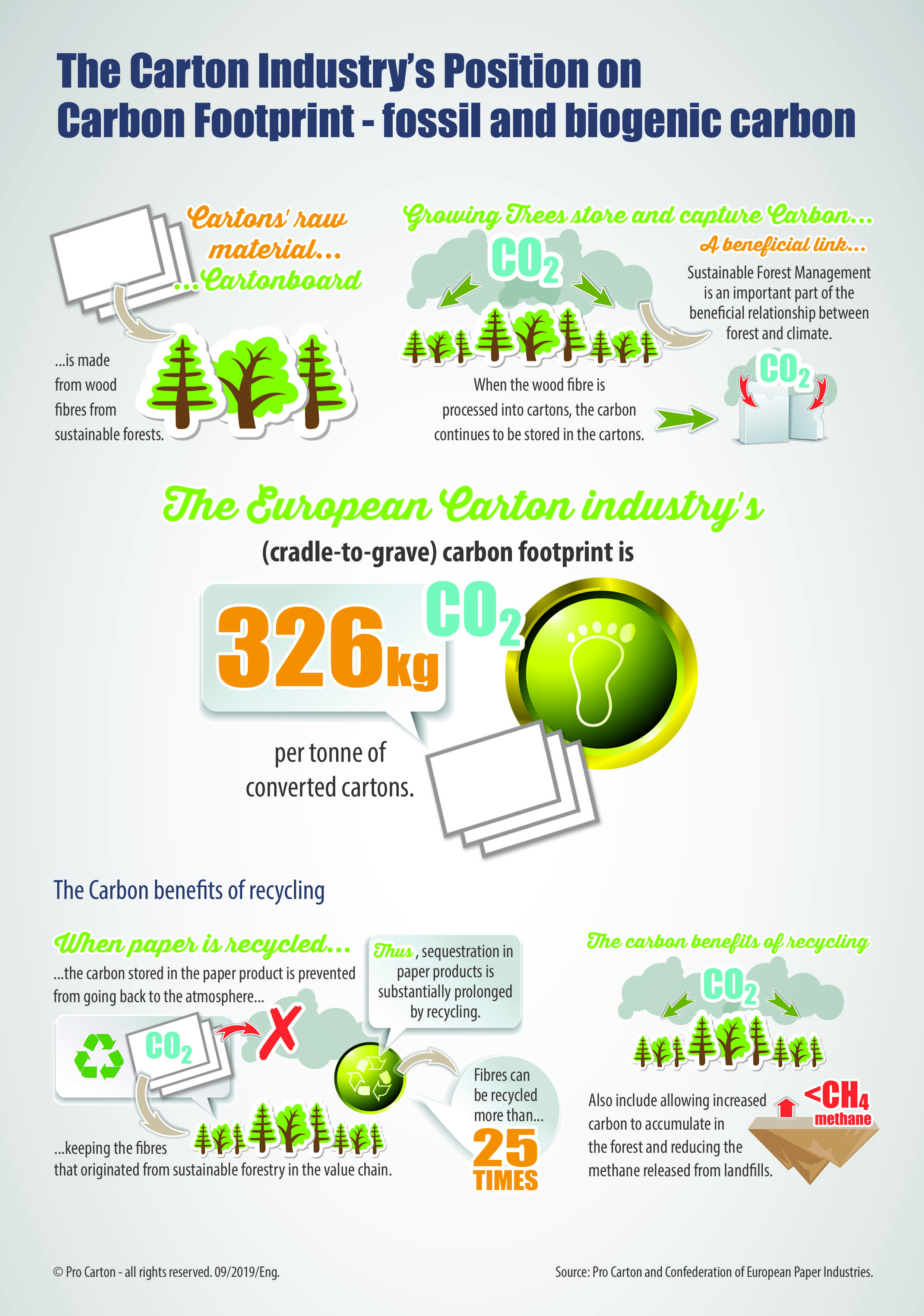 Pro Carton Infographics