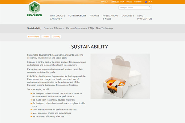 Sustainability in five languages