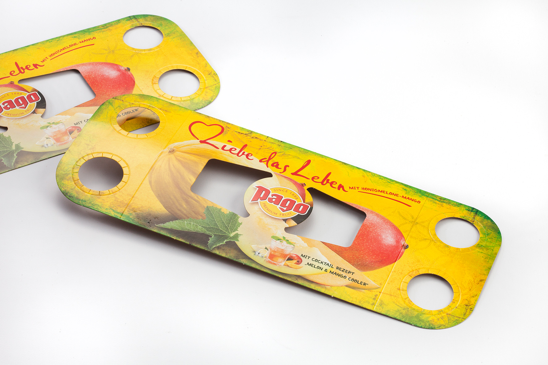 Pago Fruit Juice: Honeydew-Mango Promotion