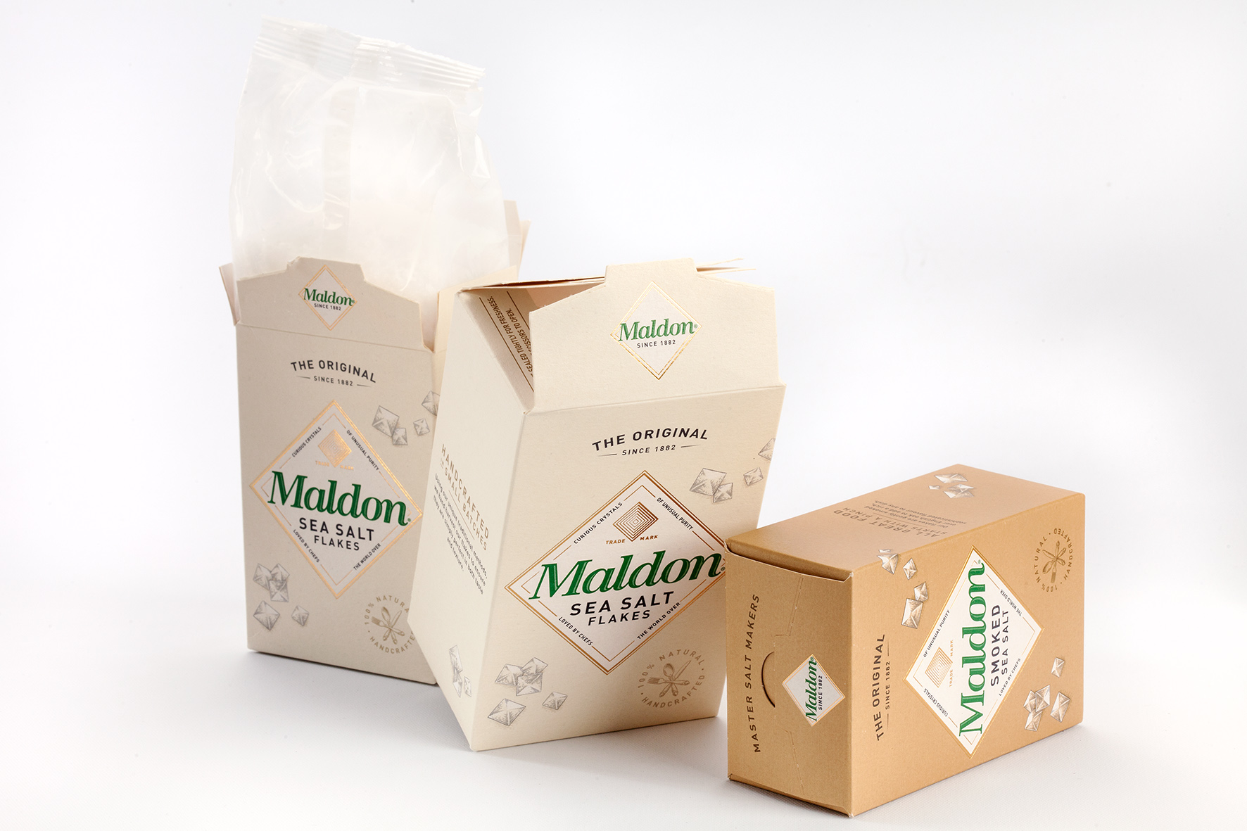 Artisan Styled Maldon Salt Packs