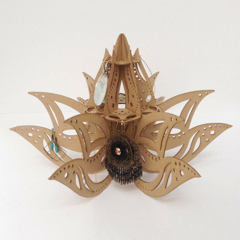 Jewelry Display Lotus Flower