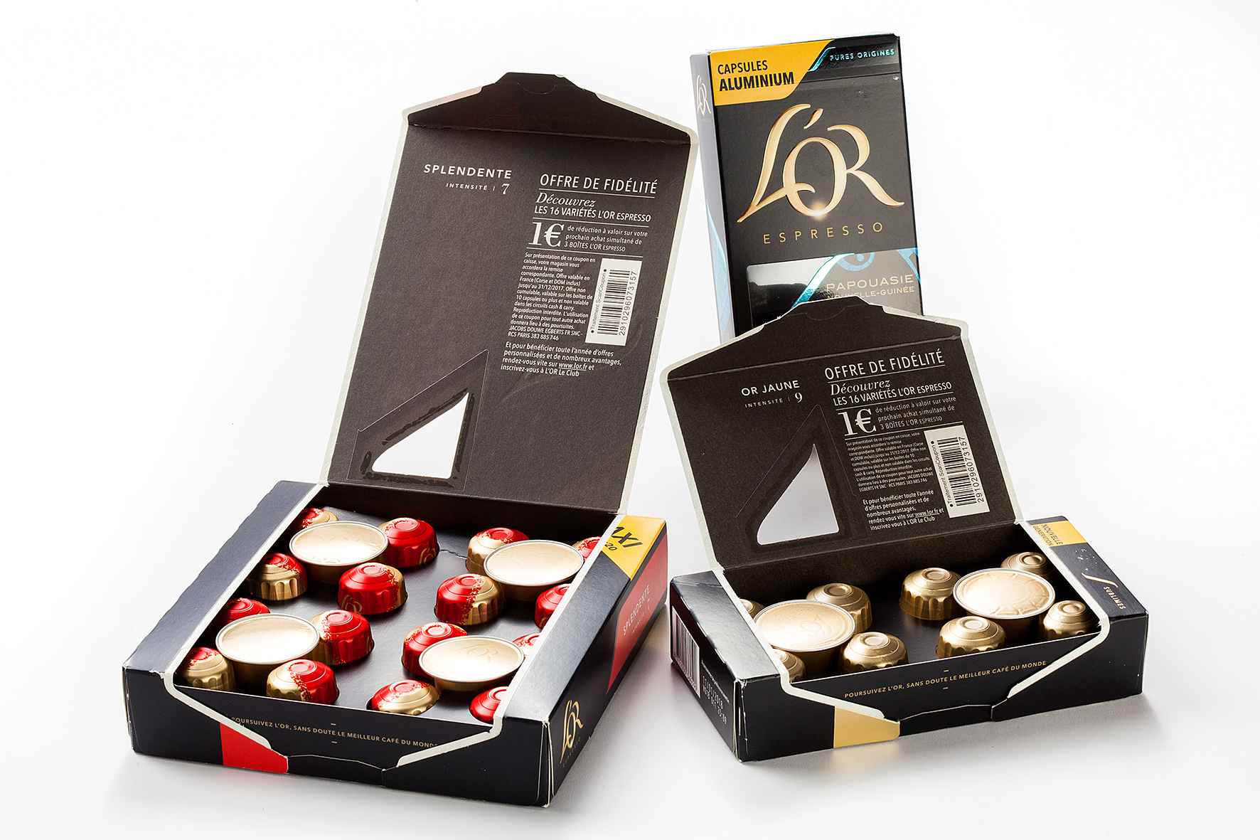 JDE Z1 packaging