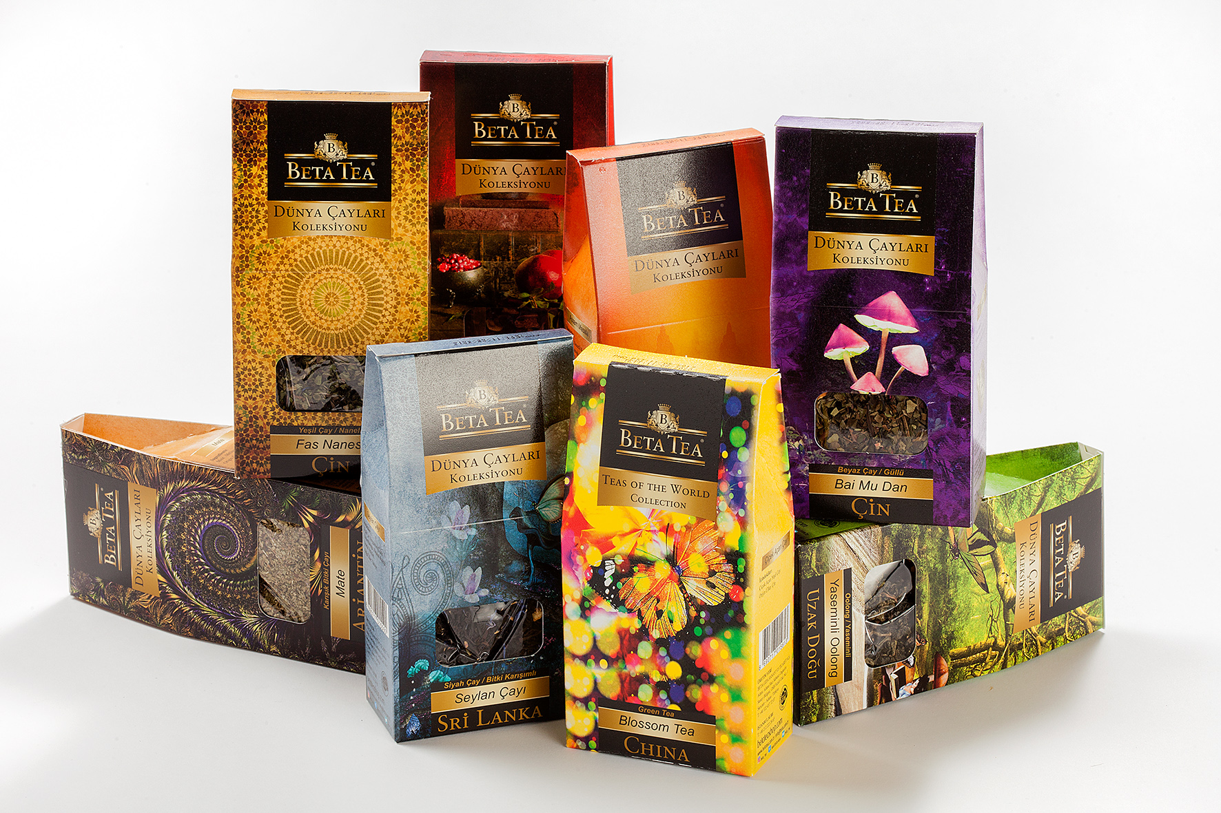 Beta Teas of the World Collection