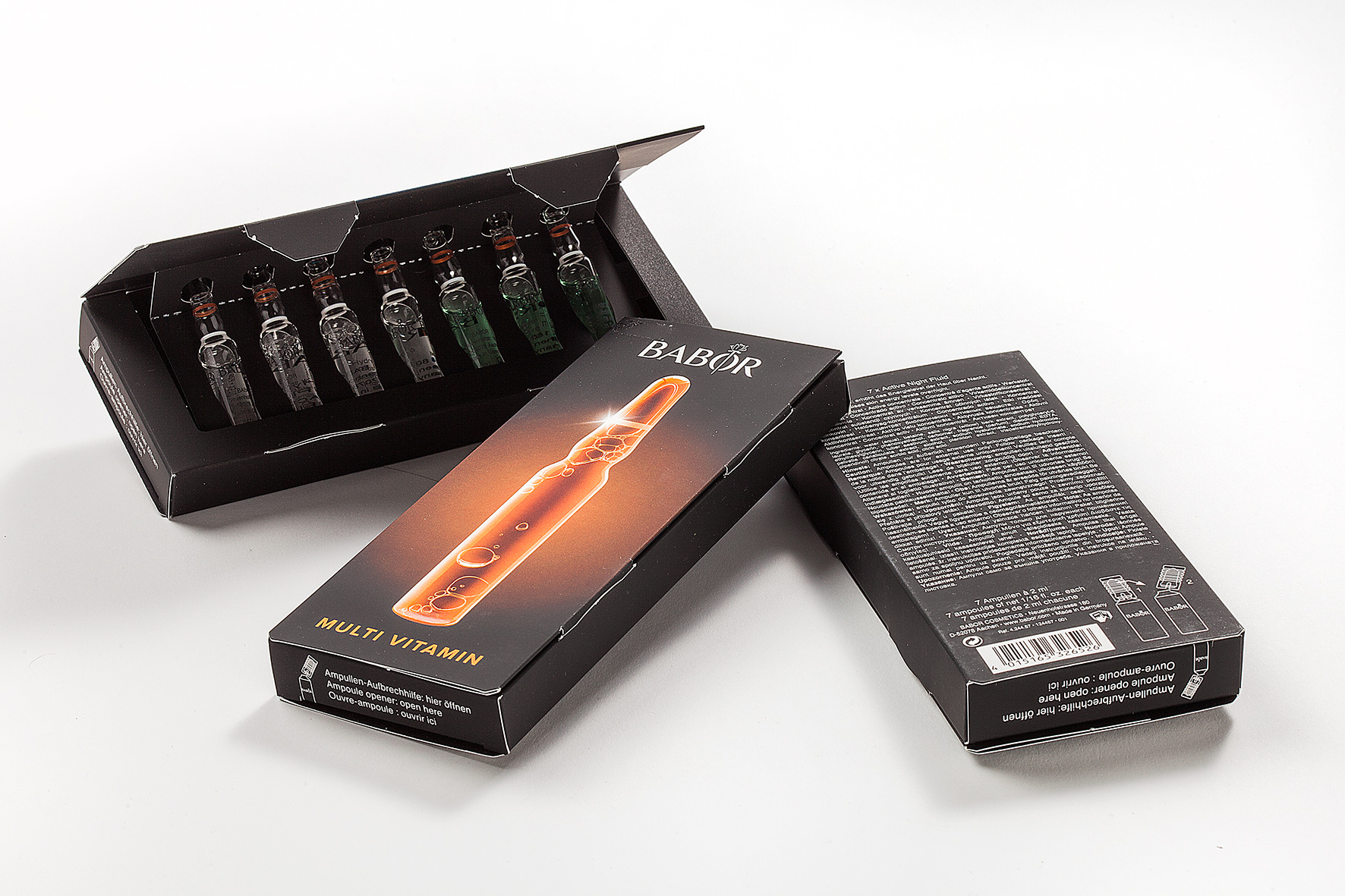 Babor packaging for ampoules
