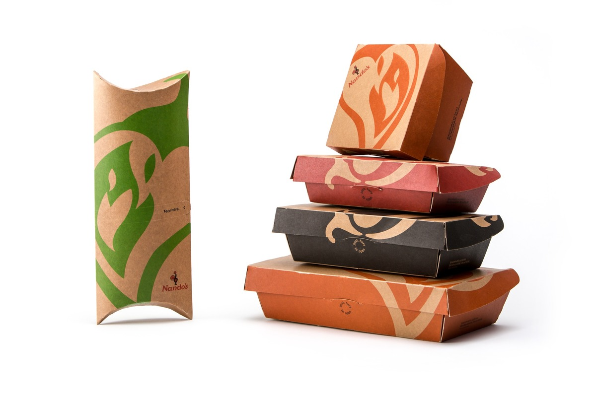 Nando's Take Away Packaging