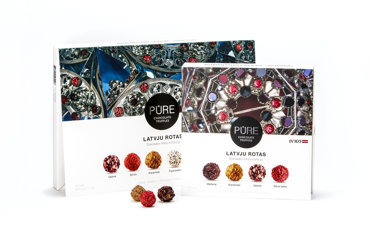 Pure Chocolate exclusive truffles collection