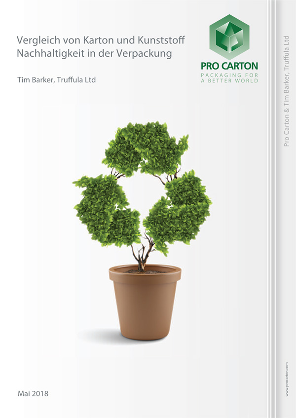 Vergleich von Karton und Kunststoff Nachhaltigkeit in der Verpackung