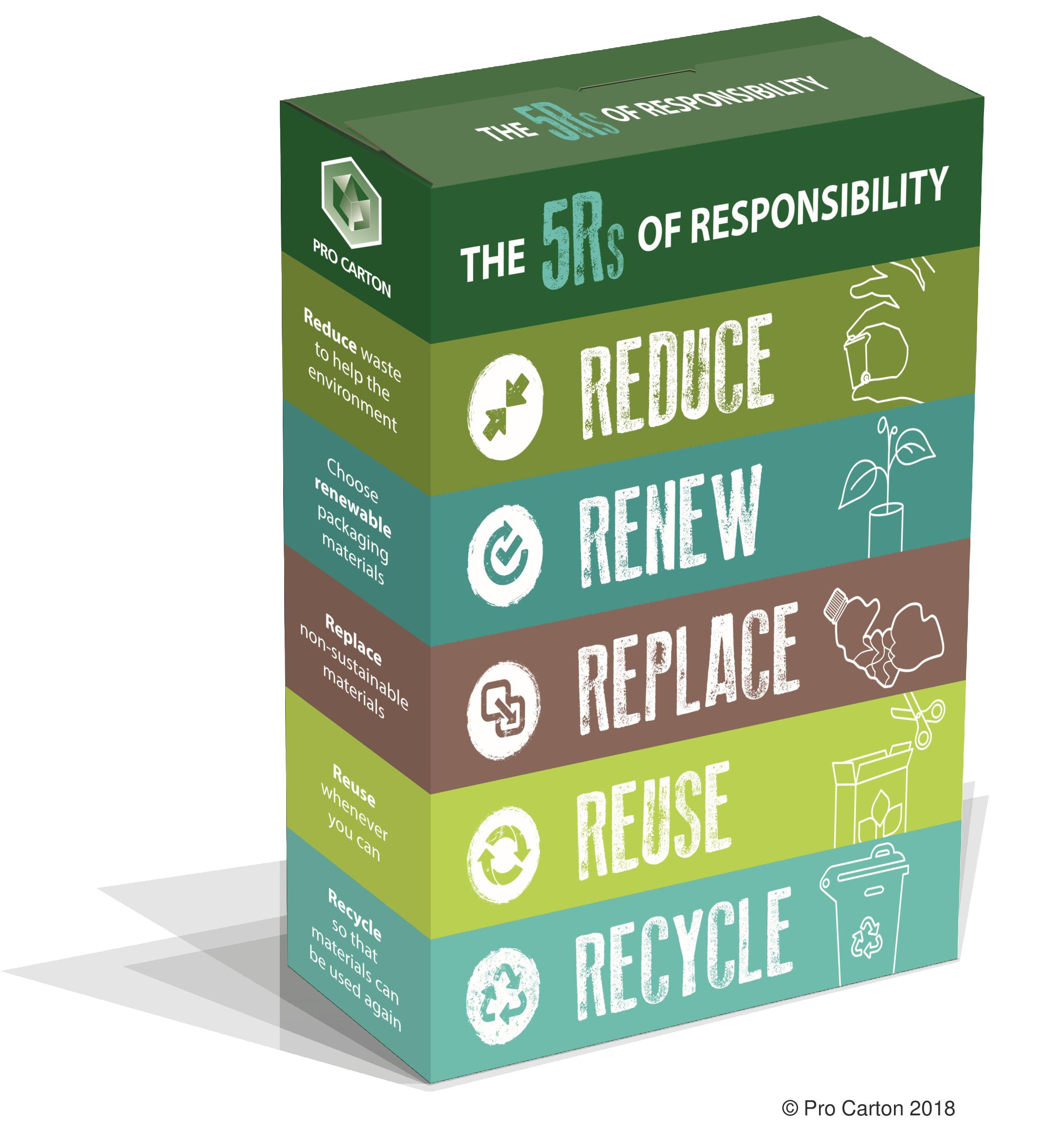 The 5Rs of Responsibility Infographic