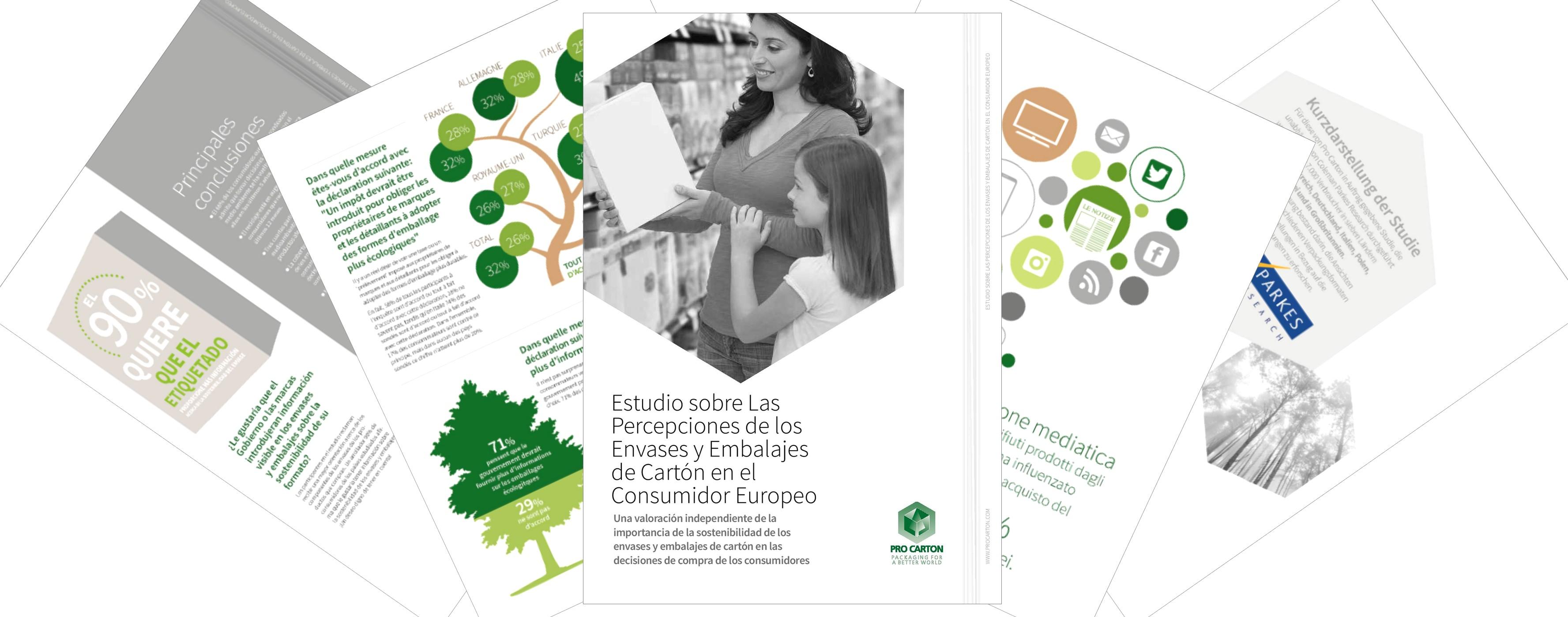 Estudio sobre Las Percepciones de los Envases y Embalajes de Cartón en el Consumidor Europeo