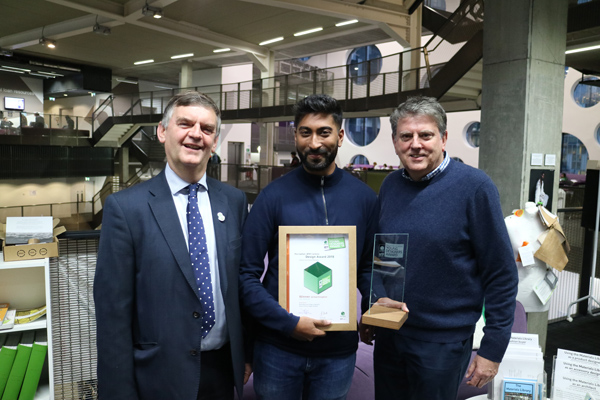London student scoops national packaging design competition