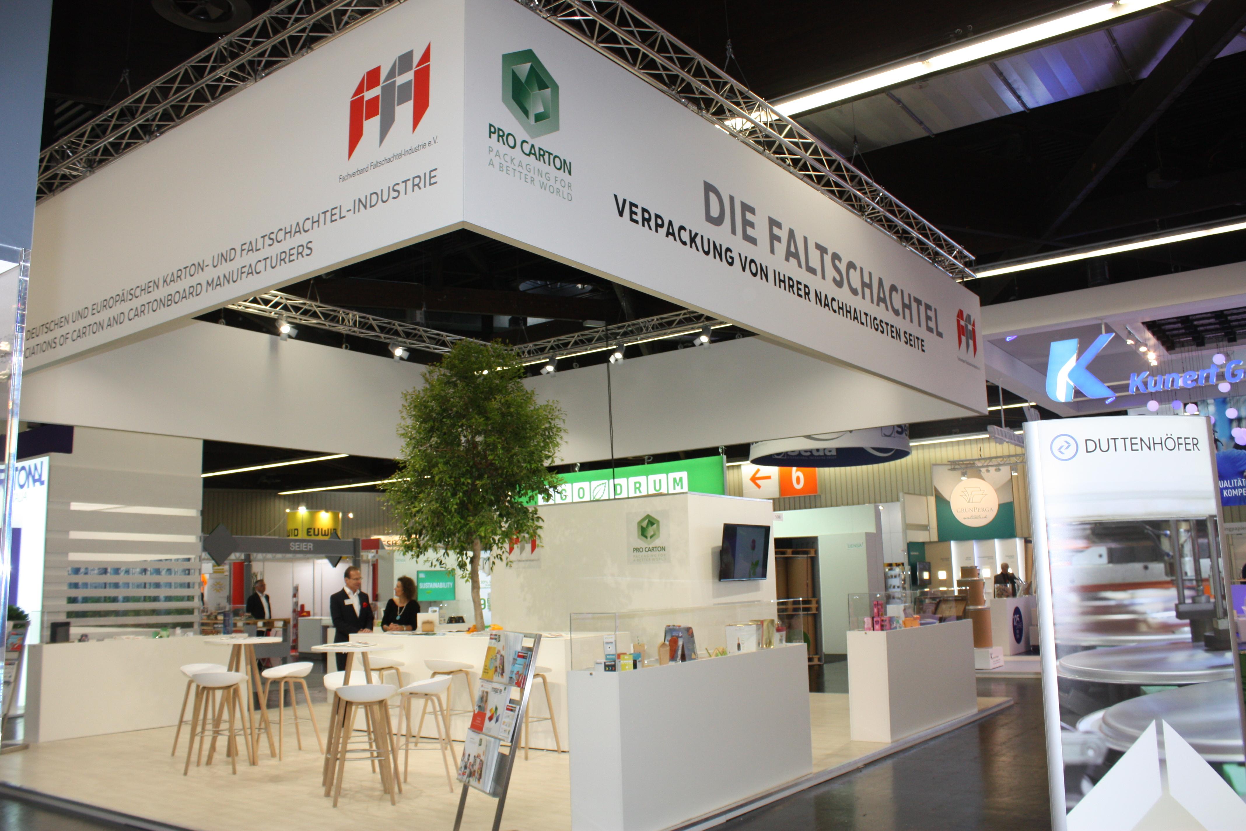 FFI und Pro Carton auf der FachPack 2019