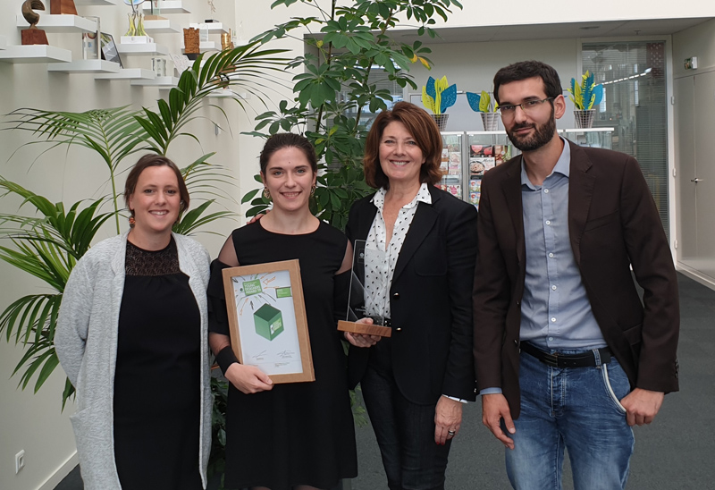 Le tout premier prix national Pro Carton Young Designers Award France. Félicitations !