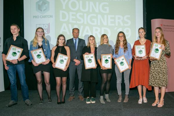 Pro Carton PROPAK Austria Young Designers Award 2019: Perfekte Show junger österreichischer DesignerInnen