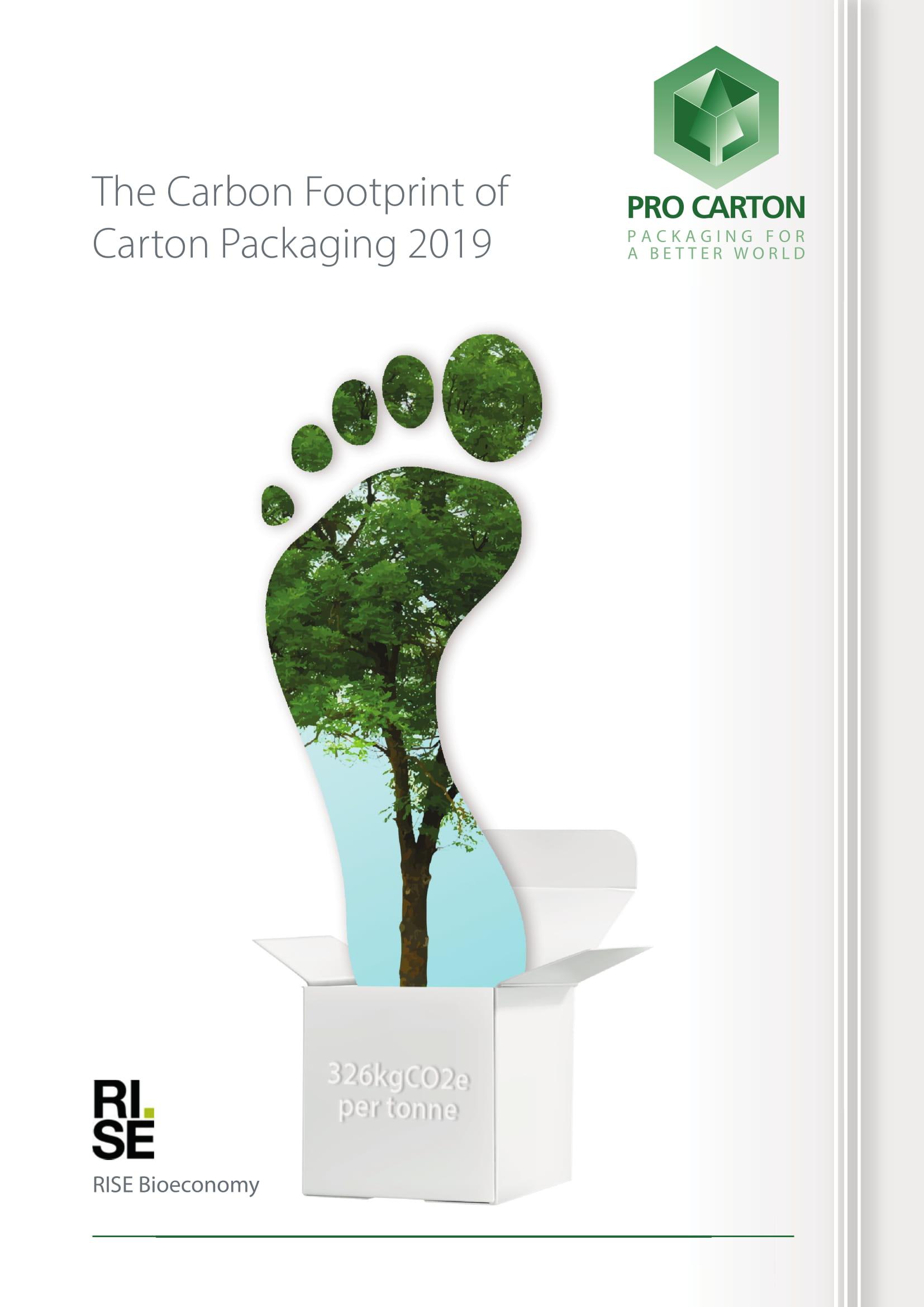 Impronta di Carbonio dell'imballaggio in Cartone