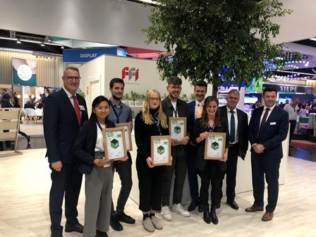 Verleihung des deutschen FFI/Pro Carton Young Designers Award 2019 auf der FachPack