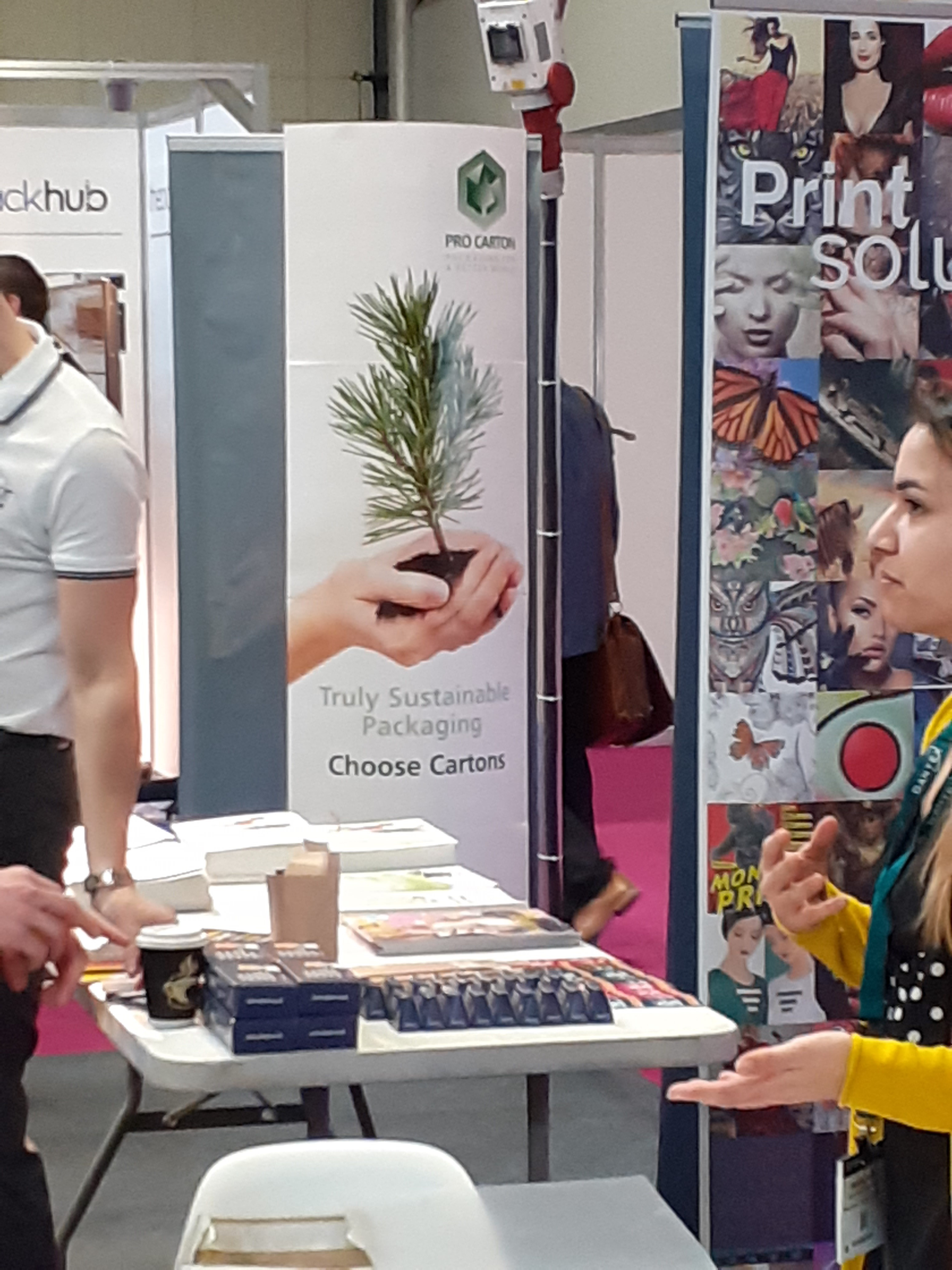 PRO CARTON AT PACKAGING INNOVATIONS BIRMINGHAM, FEBRUARY 2020